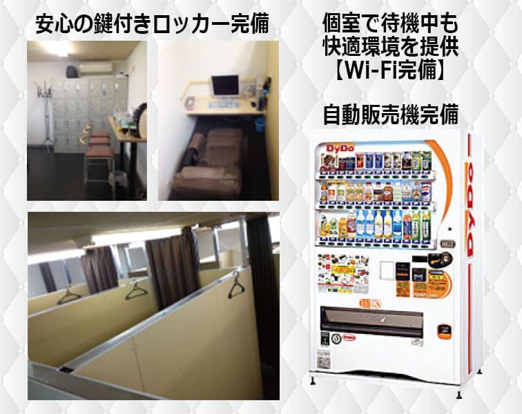 個室待機部屋